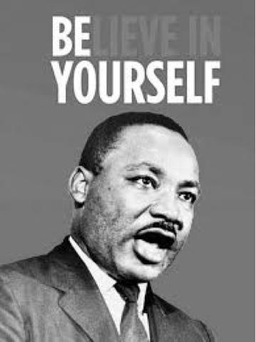 Martin Luther King Jeden Tag Etwas Neues