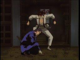 And Hajime calmly lacks a reaction.