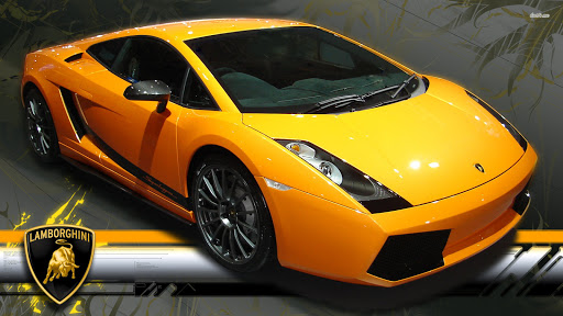 Yellow Lamborghini Gallardo Car