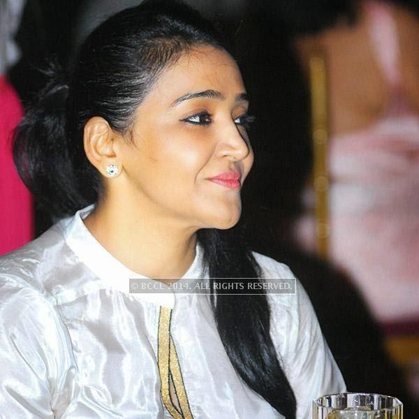 Hema Rathore during party hosted by Sunita Shekhawat in Jaipur.