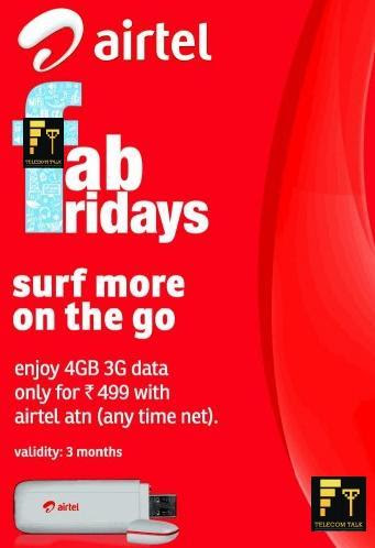 Airtel Fab Fridays