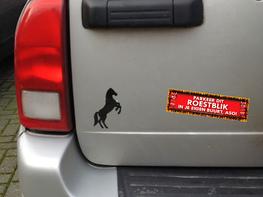 Grappige fun bumperstickers