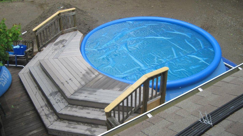 pooldoc - Intex Above Ground Pool Decks