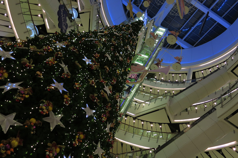 Mall Christmas tree