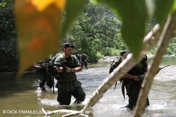 Las FARC publican un parte de guerra que ilustra en cifras frías el conflicto armado en Colombia
