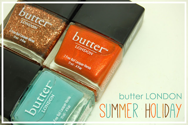 butter LONDON Summer Holiday Collection