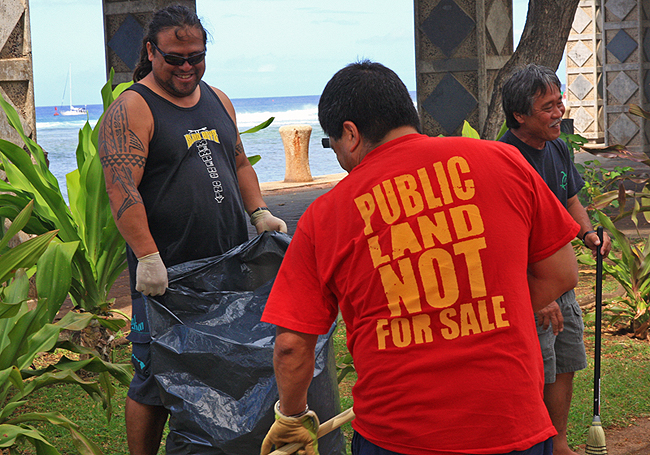 friends of kewalo basin park association, kewalo basin cleanup