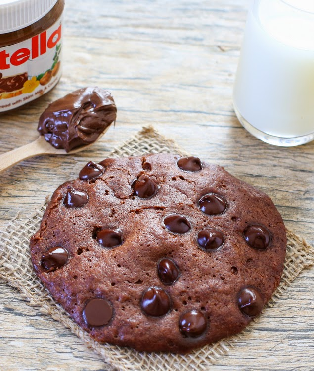 Microwave nutella cookie kirbies cravings microwave nutella cookie forumfinder Image collections