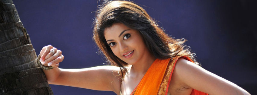 Kajal in businessman facebook cover