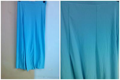 Skirt Pallazo Biru Laut