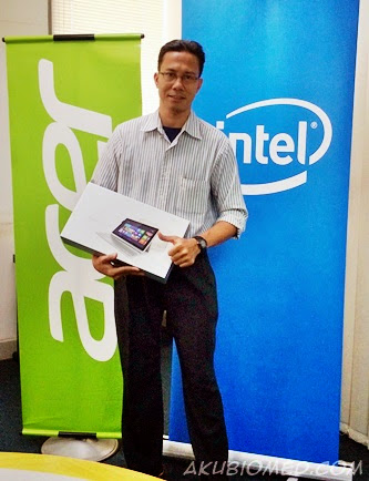 Menang contest Acer
