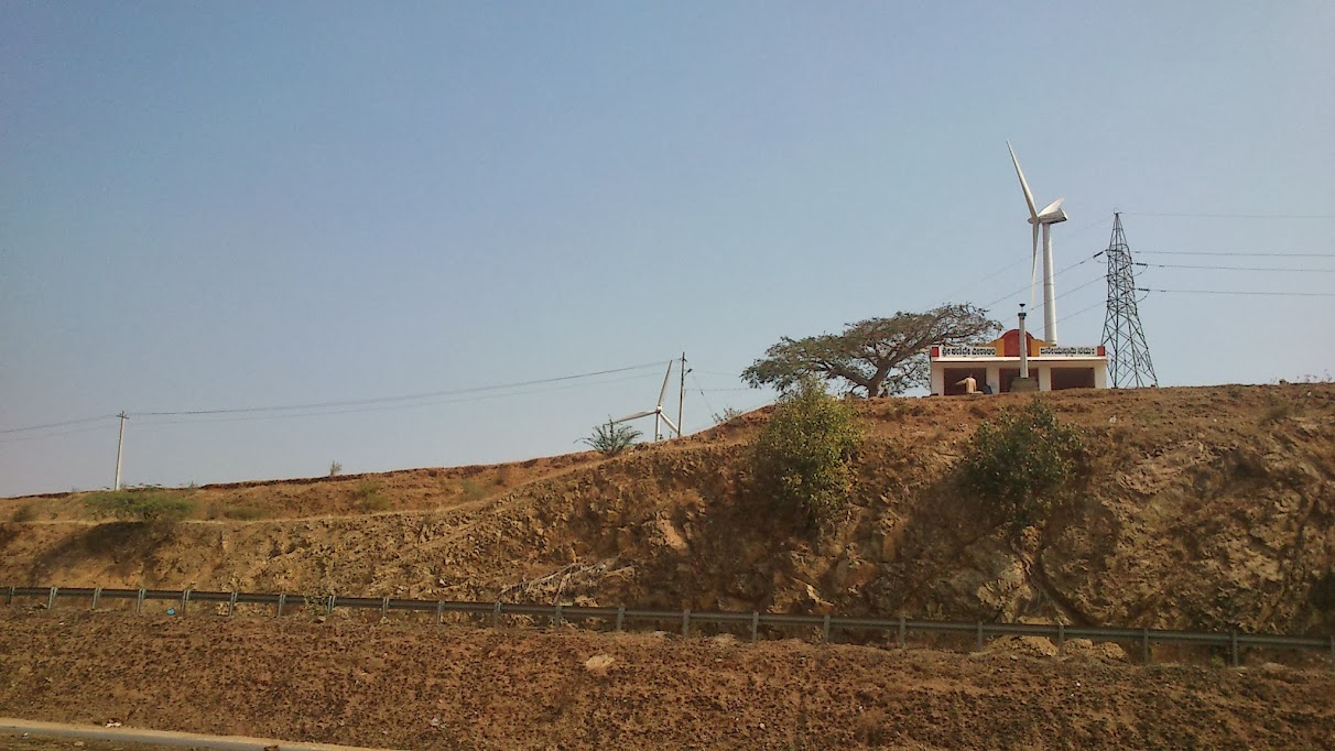 Wind mill at Chitradurga