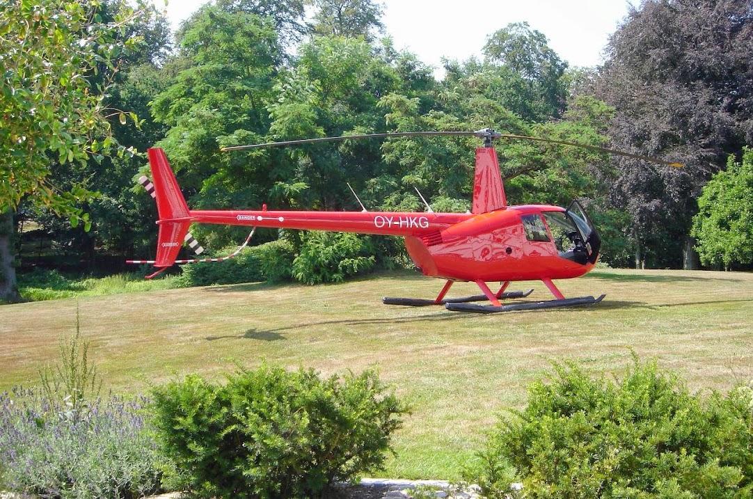 Helikoptertur Århus