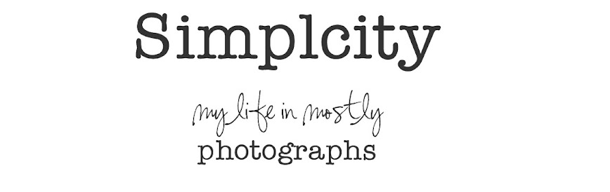 Simplicity - my life in mostly photographs