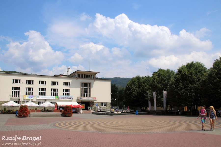 Wisła - plac Bogumiła Hoffa