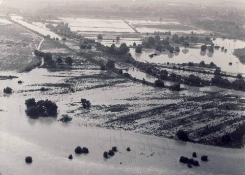Dambovita river poured