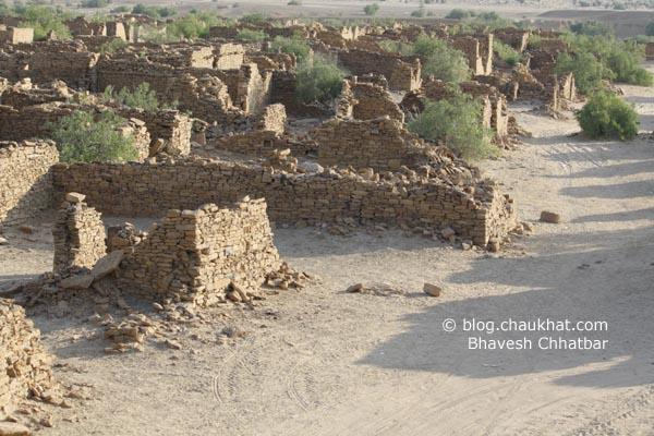 Kuldhara Village in Jaisalmer - Street