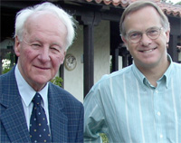 John Stott With Christopher Wright. Along with serving as the International Director of the Langham Partnership, Chris is the author of numerous books, has chaired the Lausanne Congress; Theology Working Group, and is regarded as one of the world's best Old Testament scholars.