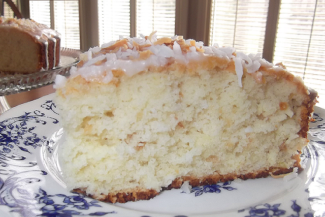 Key Lime Coconut Cake from Gourmet Magazine, March 2009 - Taking On ...