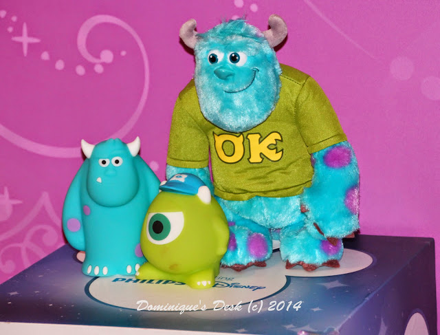 Sulley and Mike from Monsters Inc SoftPal Lights