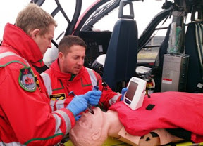 Pioneering kit fitted to Air Ambulance