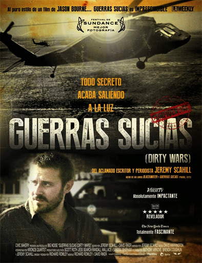Poster de Dirty Wars (Guerras sucias)