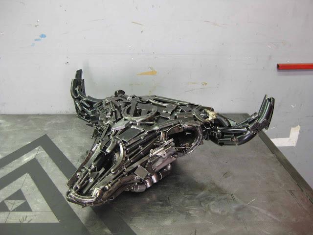 travis pond metal sculptures