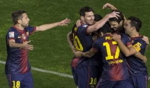 MARCADOR FINAL Barca Atletico madrid 16 DIc