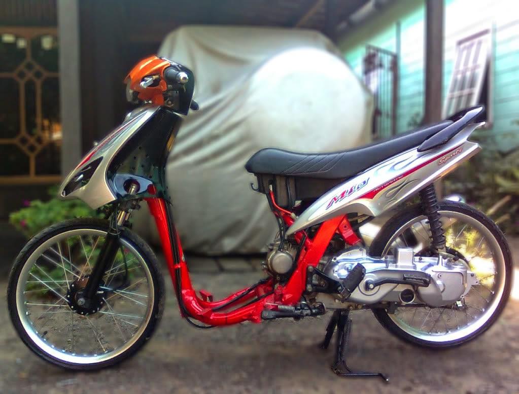 modifikasi motor honda vario techno 125