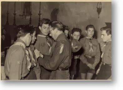 1954 Alvaro Tempi consegna la  seconda classe