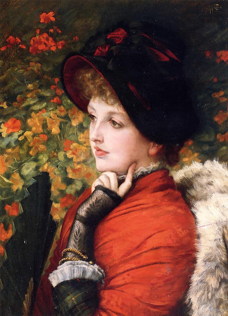 James Tissot - Type Of Beauty