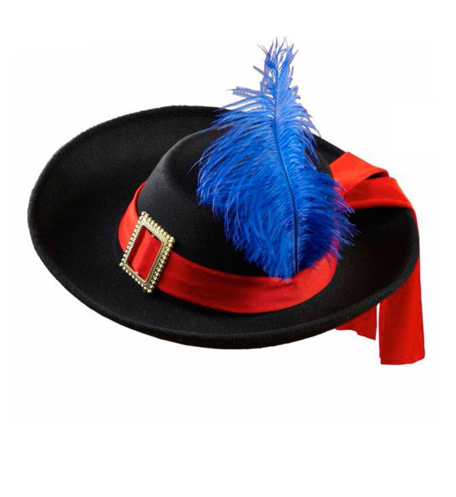 b80536a15f486 Pichardo Disfraces  Sombreros   Sombreros   08 Sombrero Mosquetero ...