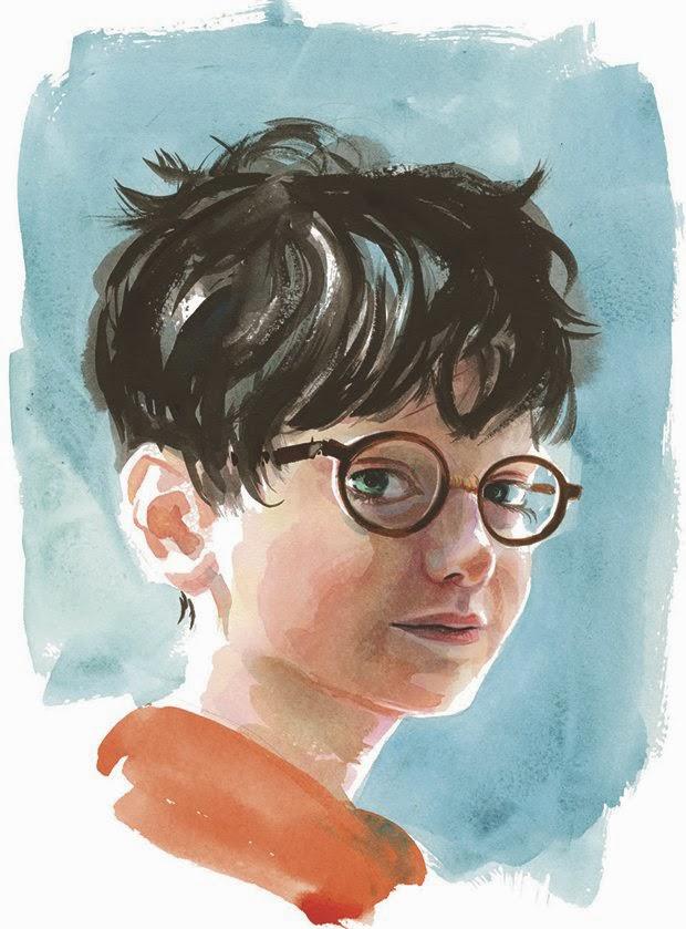 гарри поттер, детская литература, иллюстрации, книги