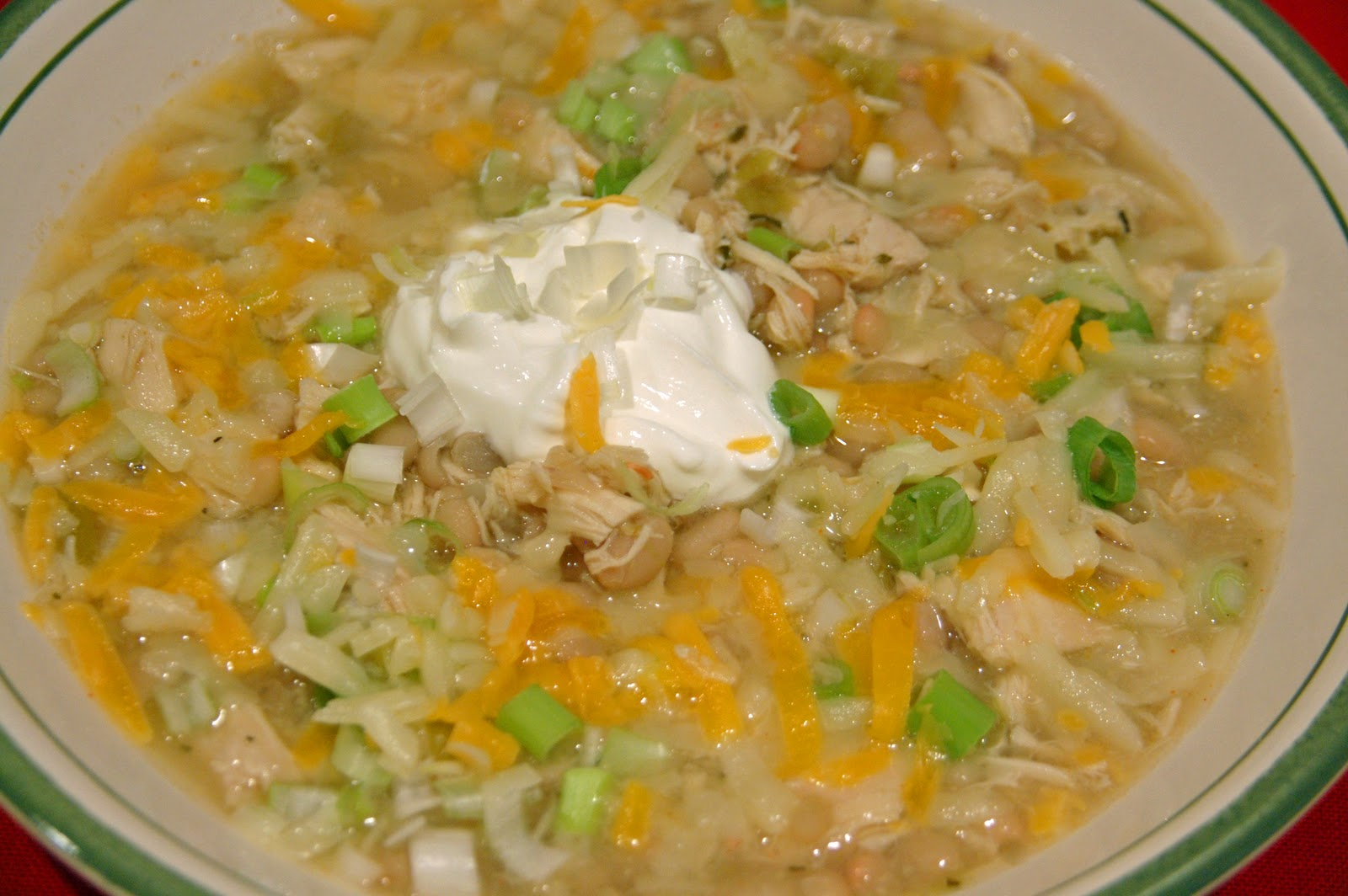 Southern Lady's Recipes: White Chili