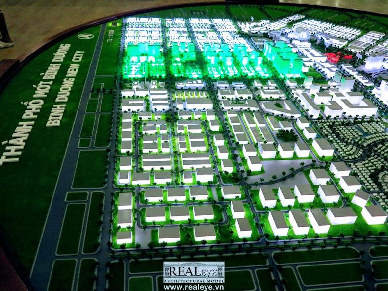 Mô hình kiến trúc REALEYE - Khu công nghệ kỹ thuật cao của tập đoàn Mapletree
