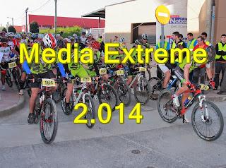 MEDIA EXTREME BARDENAS ARGUEDAS 13/04/2.014 Álbum 1º