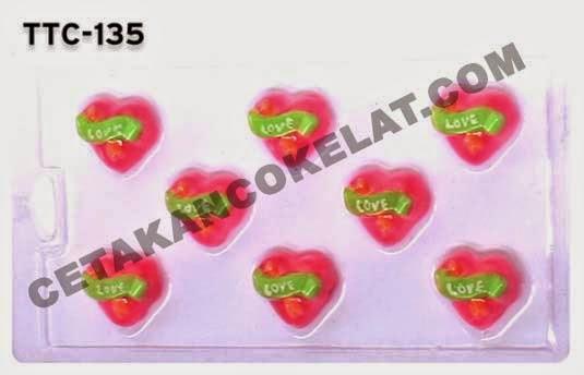 Cetakan TTC135 Love valentine