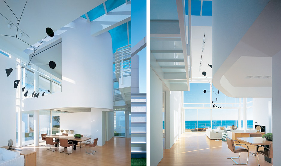 wide open architecture creates a spacious feel - Richard Meier Homes