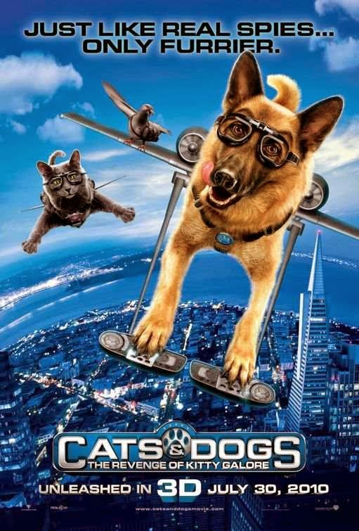 Poster Of Cats & Dogs: The Revenge of Kitty Galore (2010) Full Movie Hindi Dubbed Free Download Watch Online At Alldownloads4u.Com