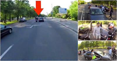 Automobilista E Grupo De Motards Começam Briga No Trânsito E O INESPERADO Acontece!!