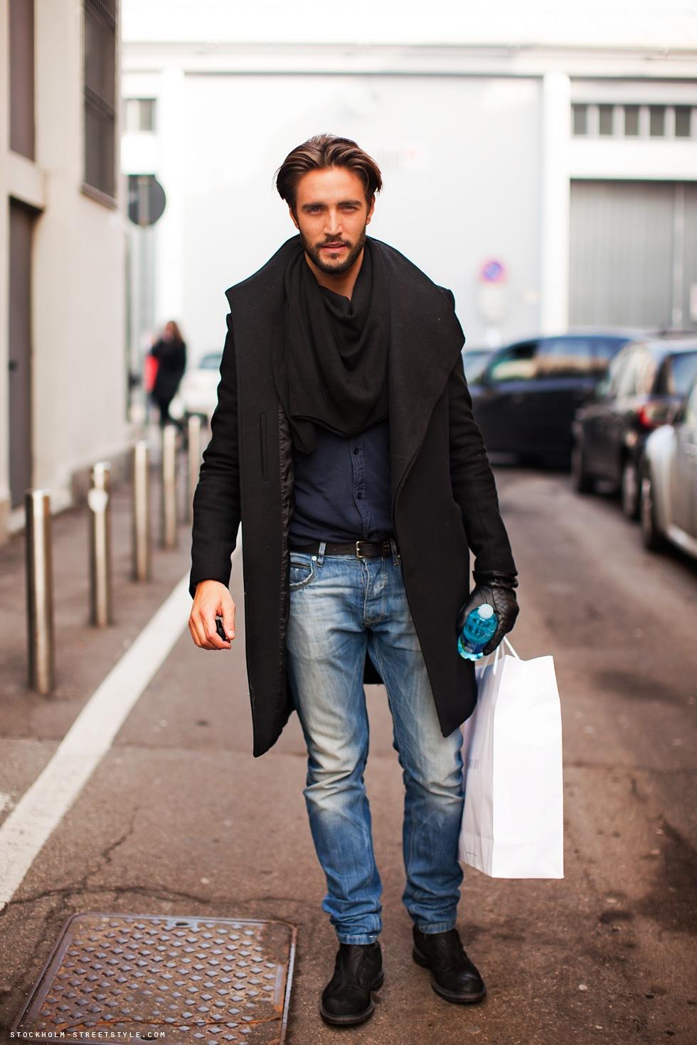White Raven: Street Style: Men