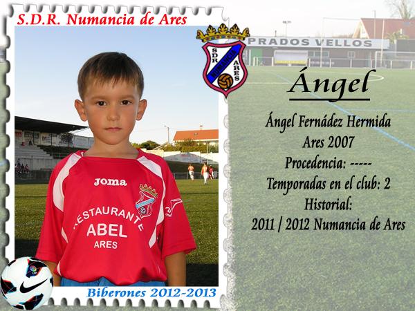 ADR Numancia de Ares. Angel.