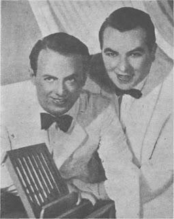 Héctor Grané y Alberto Podesta en 1945