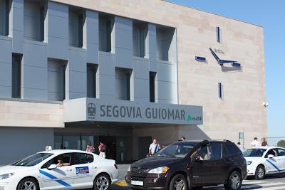 Estação de trem Segovia Guiomar - Espanha