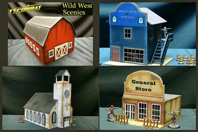 casas old west TT Combat