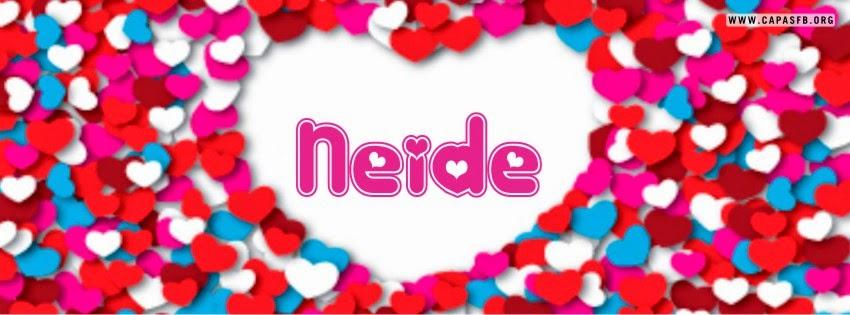 Capas para Facebook Neide