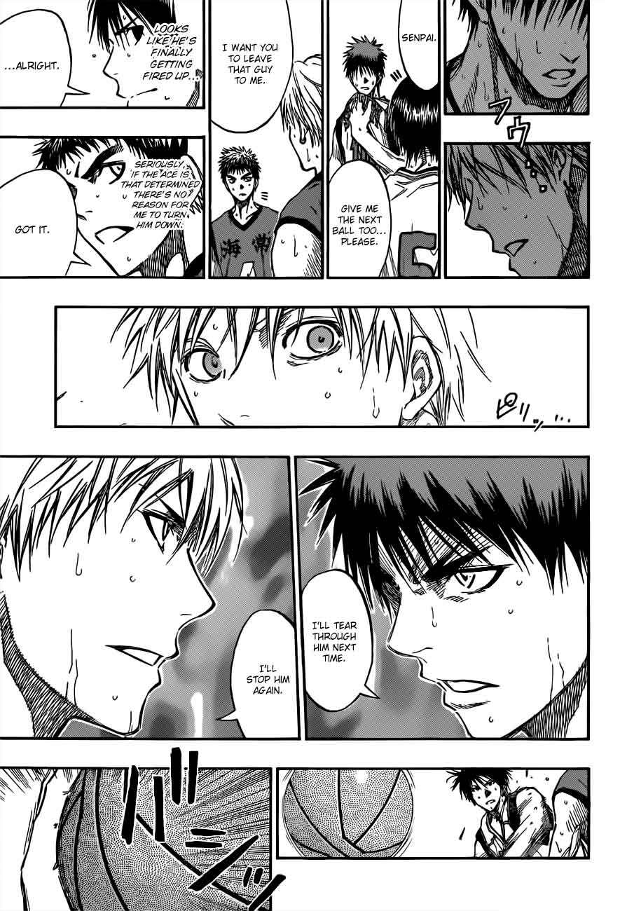 Kuroko no Basket Manga Chapter 189 - Image 13