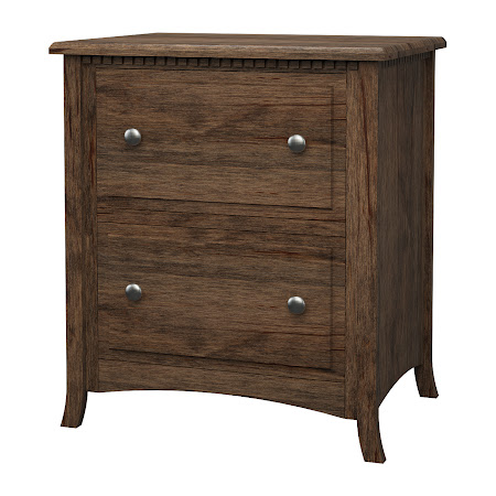 Lisbon Lateral File Cabinet in Weathered Maple