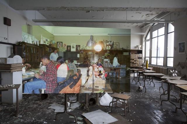 *Detroit Now And Then:極度詭譎昔日影像交錯重疊! 23