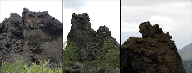 Un tour  d'Islande, au pays du feu... et des eaux. 31-Dimmuborgir